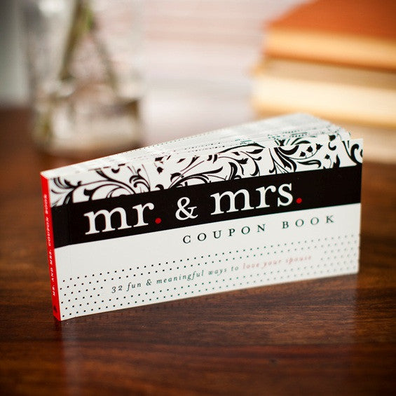 Mr & Mrs Coupon Book