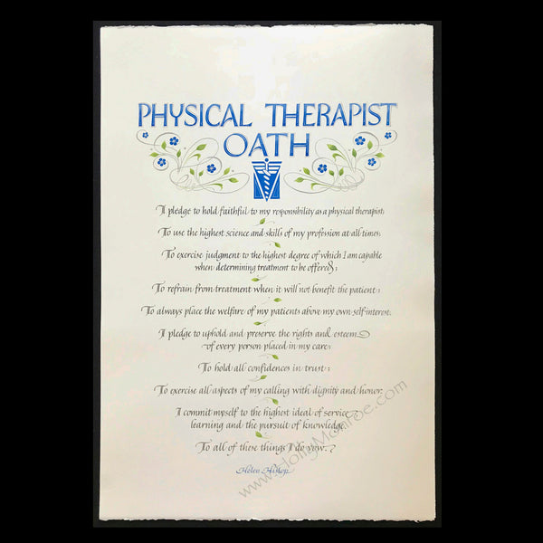 Physical Therapist Oath