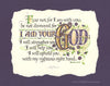 Fear Not For I Am Your God Isaiah 41 Calligraphy Print Holly Monroe Calligrapher