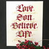 For God So Loved-John 3:16 FINE ART PRINT