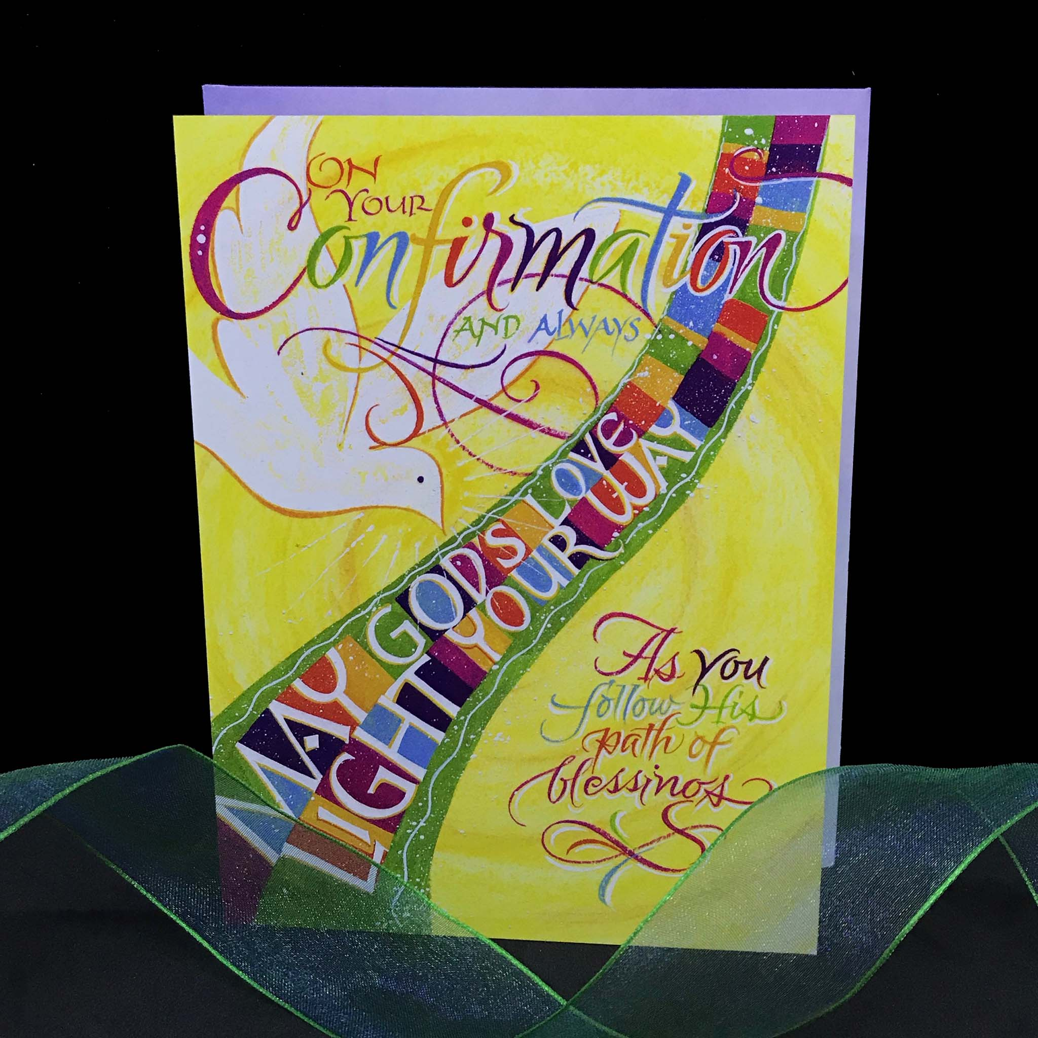 On Your Confirmation Card with Holly Monroe Calligraphy