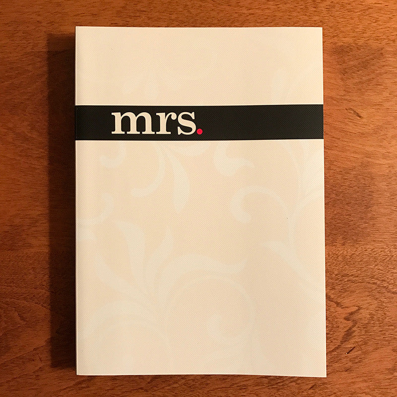 Mrs Notebook Journal 5x7 Dayspring