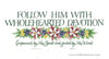 Floral border lettering of Ephesians 6 verses 17 and 18 available in various sizes