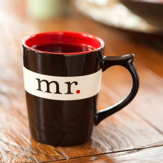 Mr Mug scripture inside rim Song of Solomon 3 DaySpring