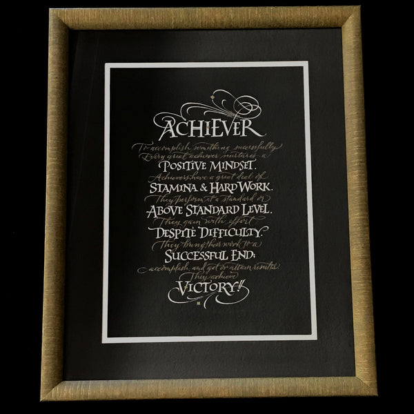 Achiever, Original Framed