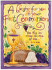 A Blessing for your First Communion calligraphy card Luke 22 Holly Monroe