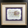 Isaiah 41 Fear Not For I Am Your God Framed Calligraphy Print Holly Monroe Calligrapher