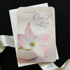 For the Beautiful One I Love Birthday Card with scripture and Holly Monroe Calligraphy