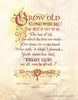 Grow Old along with Me Holly Monroe calligraphy print Robert Browning