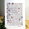 A Sacristy Prayer calligraphy print Clifford Mansley Heirloom Artists calligrapher