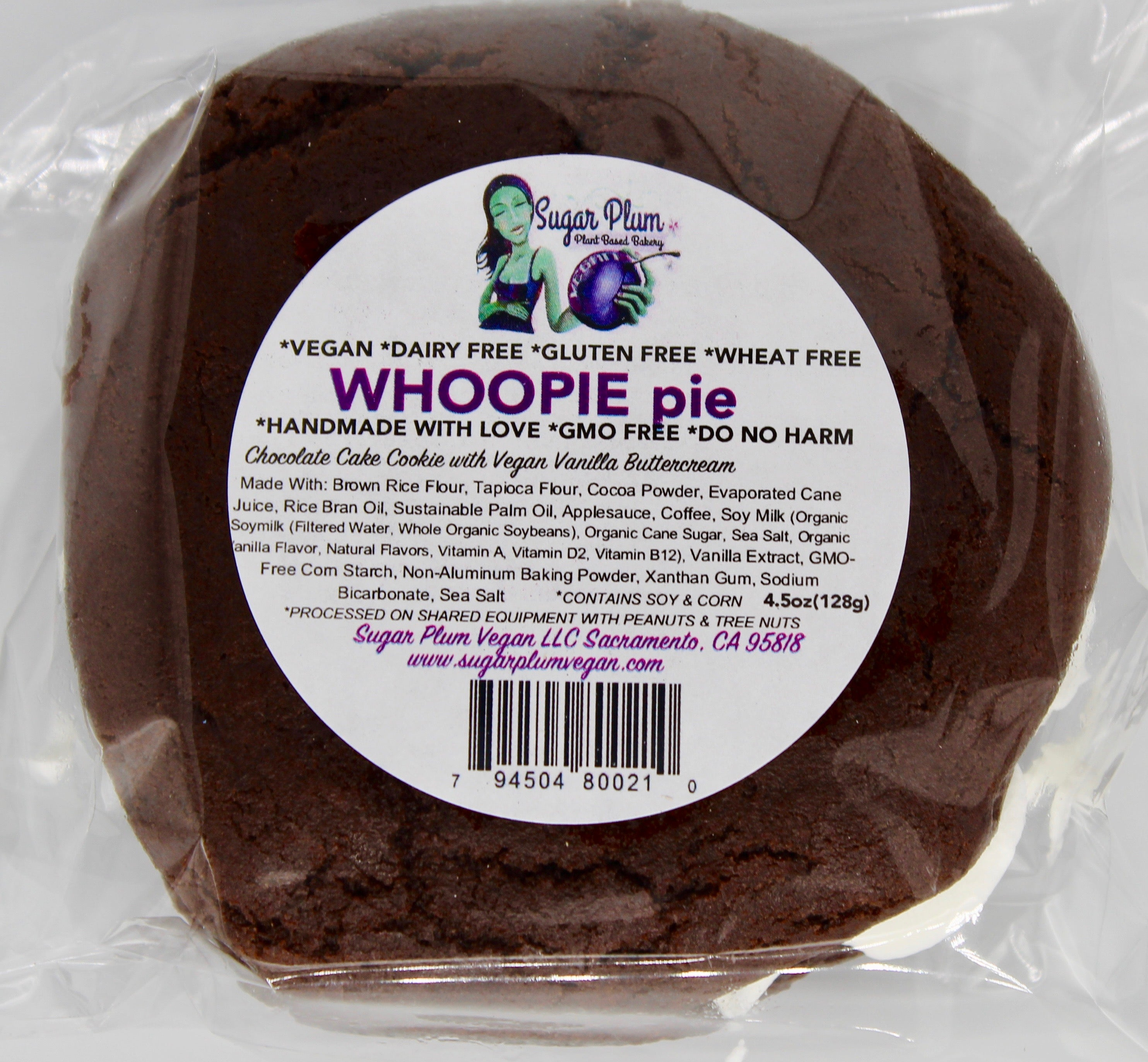 Whoopie Pie-VARIOUS PACK OPTIONS-(Vegan, Gluten Free)