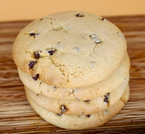 Large Chocolate Chip Cookie- VARIOUS PACK SIZES (Gluten Free, Vegan)