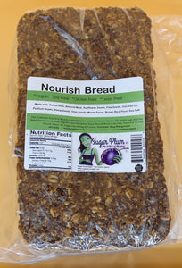 NOR CAL LOCAL DELIVERY ONLY * Nourish Bread -VARIOUS SIZE OPTIONS- (Gluten, Soy, Yeast and Refined Sugar Free)