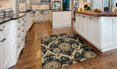 Add a kitchen rug