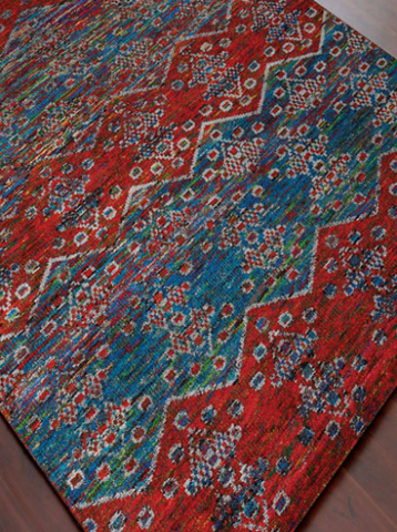 Amer rug made from Recycled Materials