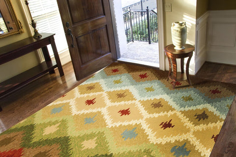 Foyer Rug Rules : Rugs selecting rug sizes for every room