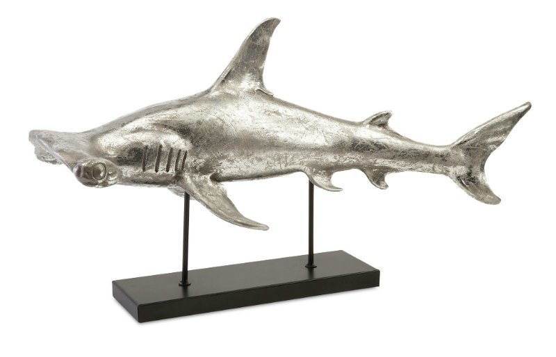 Rug and Home Shark Week Hammerhead Shark Sculpture