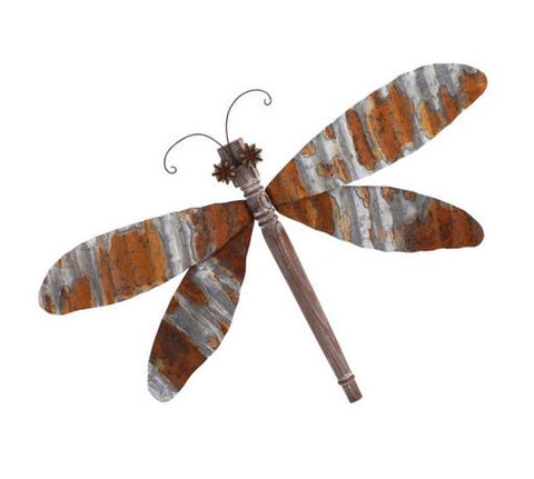 Corregated Dragonfly Wall Decor