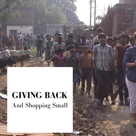 Giving Back & Shopping Small