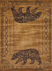 United Weavers Bear Cave Rug