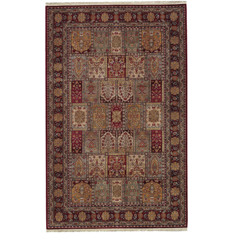 Antique Legends Bakhtiyari 00202 Crimson Red Rug
