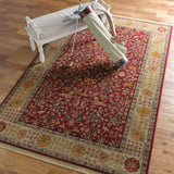 Antique Legends Emperor's Hunt 00204 Brick Red Rug