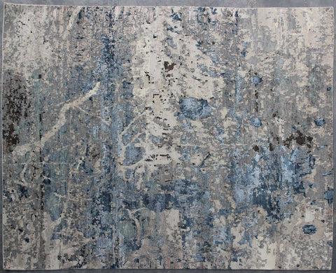 Cochin WV 1137 A WHS SILVER/BLUE Made To Order Rug