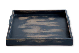 Lassie 1211310 Antique Black Tray With Handles