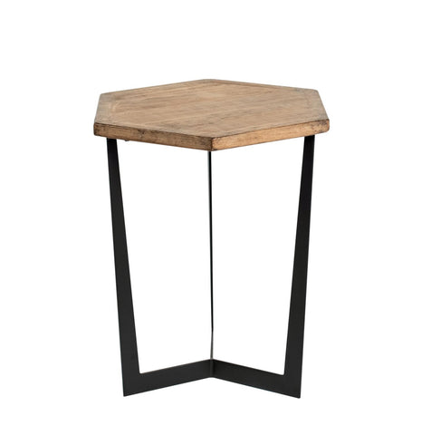 Hex 1212373 Antique Natural Accent Table