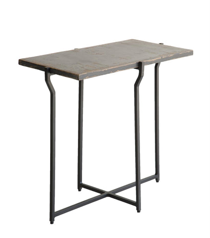 Nayelli 1212427 Antique Black Accent Table