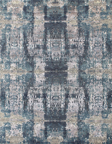 Elite 1315 Silver/Blue Made To Order Rug