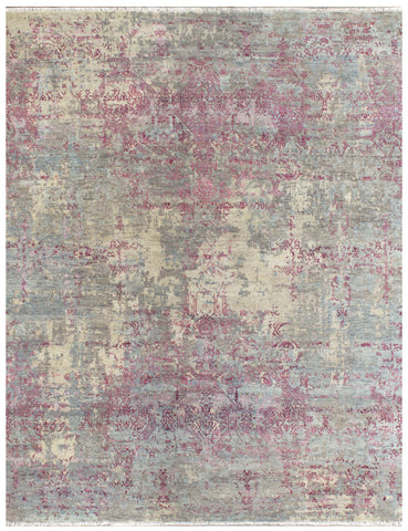 Elite 1319 Navy Silver/Lilac Made To Order Rug
