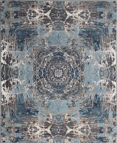 Elite 1330 Light Blue/Gold Made To Order Rug