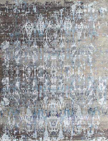 Elite 1333 Gray/Turquoise Made To Order Rug
