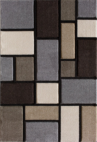 Pinnacle 1499.61 Alleman Grey Rug Rectangle 5 x 7.5