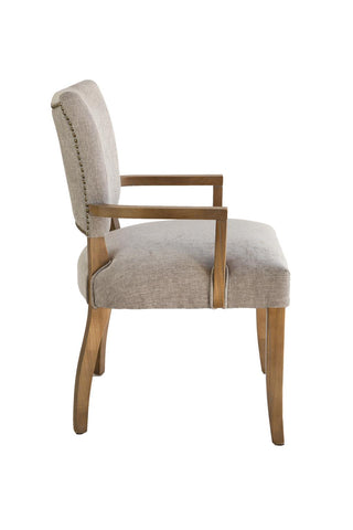 Ariana 1610302 Grey Washed/Anew Grey Dining Arm Chair
