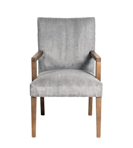 Sasha 1610457 Grey Wash/Channel Grey Arm Chair