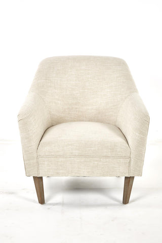 Violet 1810151 Dark/Beige Linen Accent Chair
