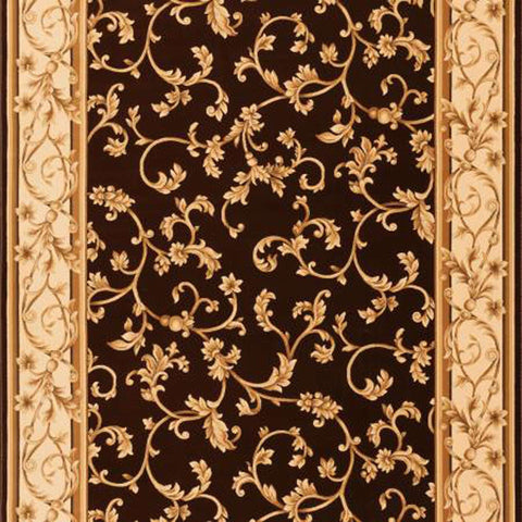 Radiance Mediterranean 023 2034BW Felix Brown/Wheat Rug