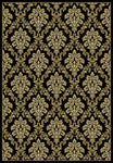 Radiance Mediterranean 023 2069BK Tapestry Black Rug Rectangle 5.25 x 7.58