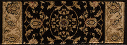 Radiance Mediterranean 023 2070BK Hanover Black Rug Rectangle 7.83 x 10.83
