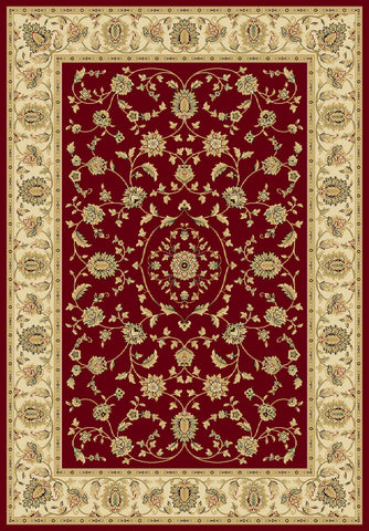 Radiance Mediterranean 023 2070CN Hanover Crimson Rug Rectangle 5.25 x 7.58