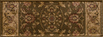 Radiance Mediterranean 023 2070GR Hanover Green Rug Rectangle 7.83 x 10.83
