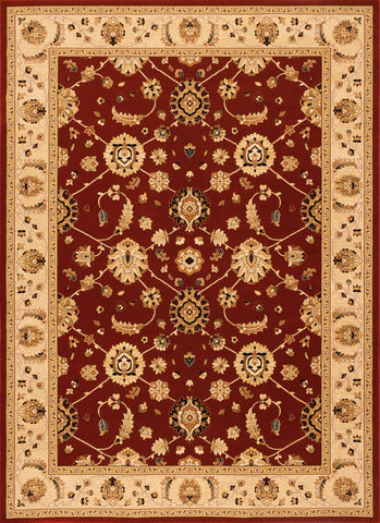 Radiance Mediterranean 023 2079CN Catonsville Crimson Rug Rectangle 5.25 x 7.58