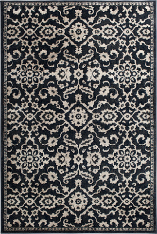 Century 2603IH Moorestown Indigo/Birch Rug Rectangle 5 x 7.25