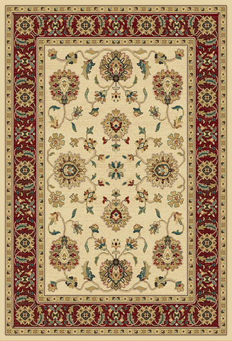 Paige Mediterranean 023 3113WC.023 Thayer Wheat/Crimson Rug