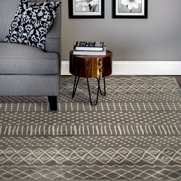 Corso 4038TH Alvis Sterling/Birch Rug Rectangle 7.83 x 9.83