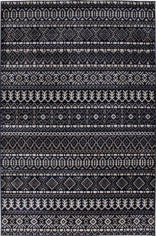 Corso 4067NM Mumbai Indigo/Multi Rug Rectangle 5 x 7.5
