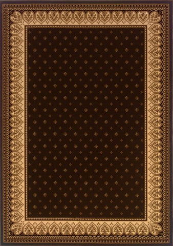 Dimensions Mediterranean 023 4338.51MEC Lily Chocolate Rug
