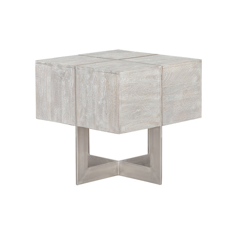 Desmond Square Nickle End Table